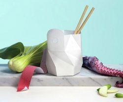 Túi đựng thực phẩm có thể tự hủy và tự nấu